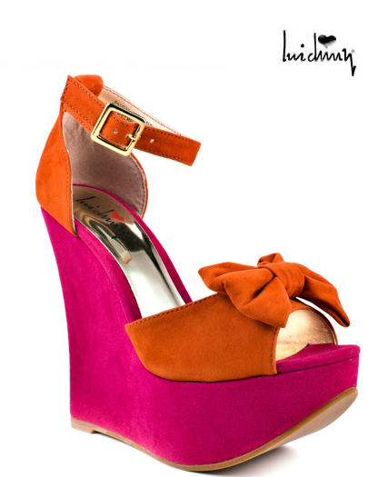 Colorful Wedges = Happy Feet!