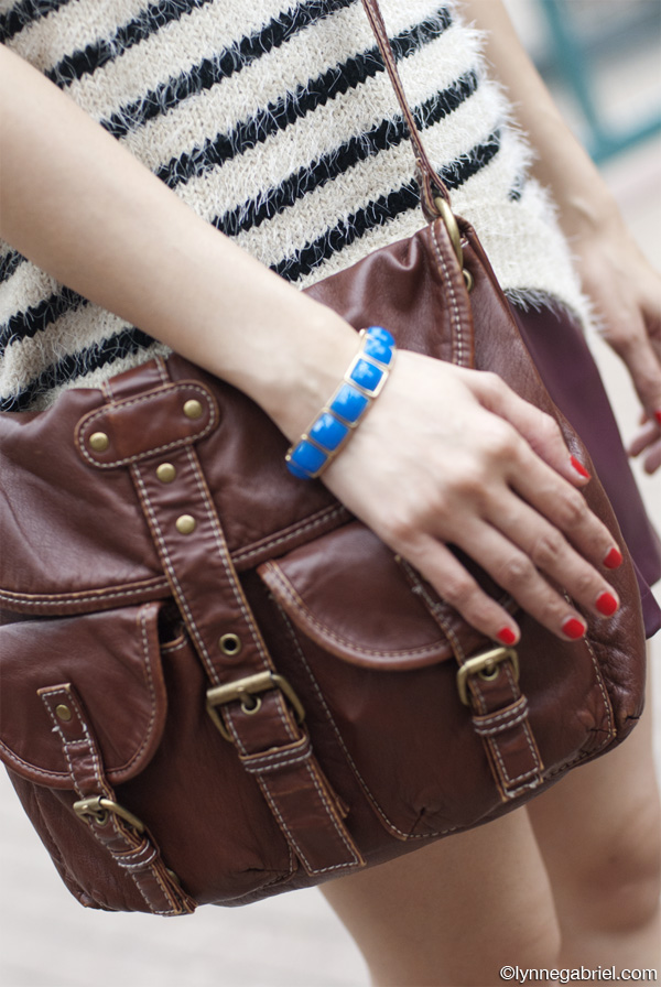 Deb Shops Bag, Alue Fab Bracelet