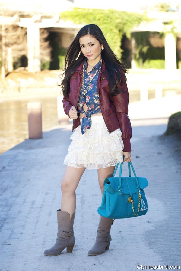 Houston Style Blogger Wears Deb Shops