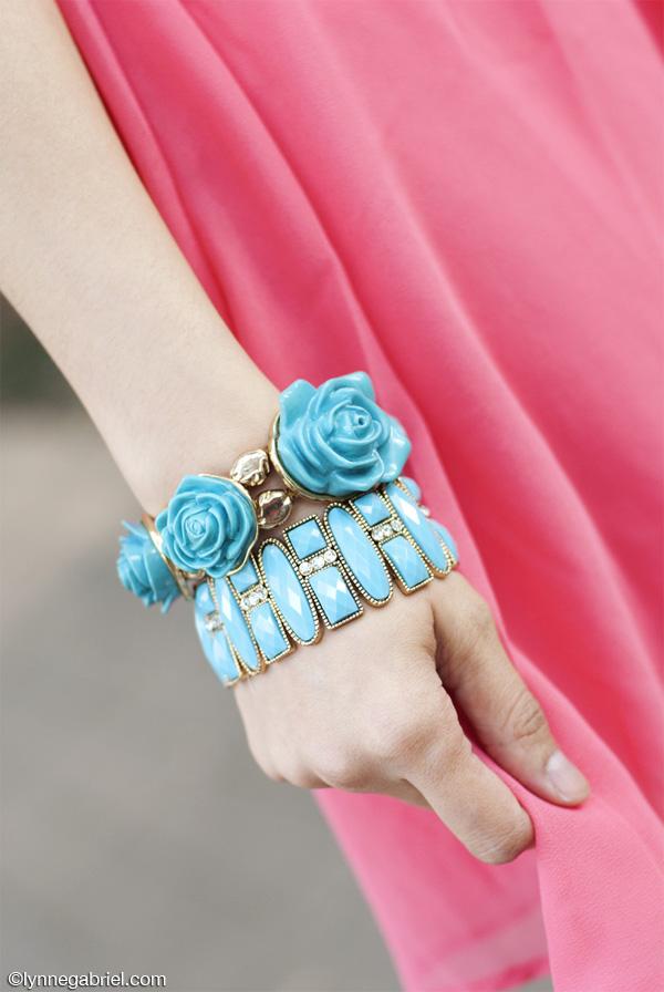 Rose Turqouise Bracelets