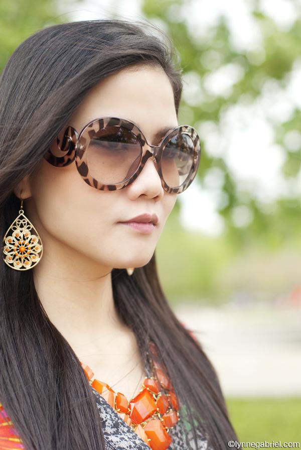 Prada Inspired Romwe Sunglasses