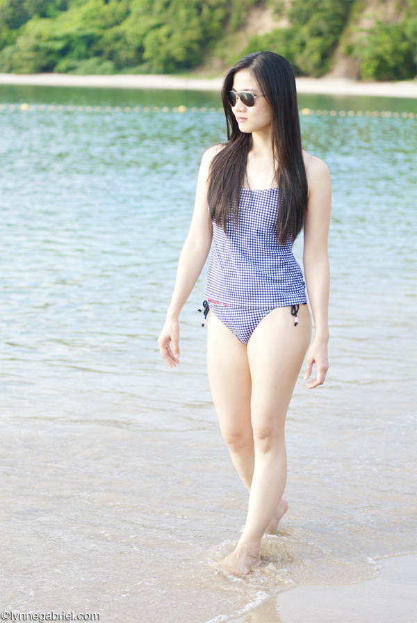 Houston Style Blogger Wears Tankini