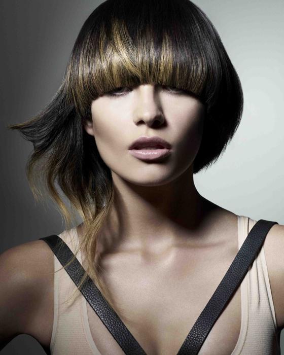 Brown_Bowl_Cut Mid Cut Hairstyle