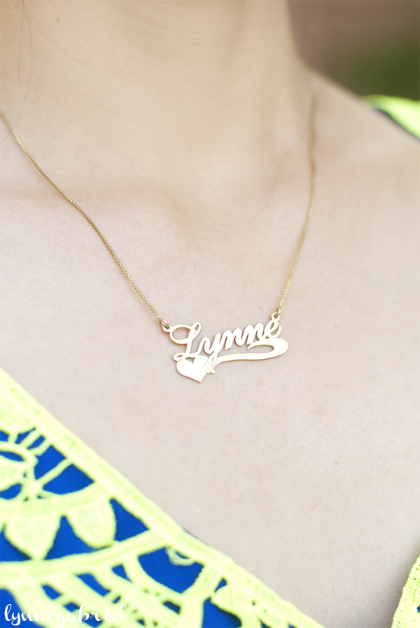 Name Necklace from OneCKLace