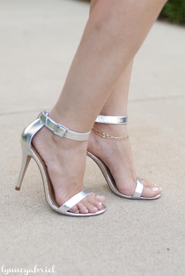 Deb Shops Silver Shoes