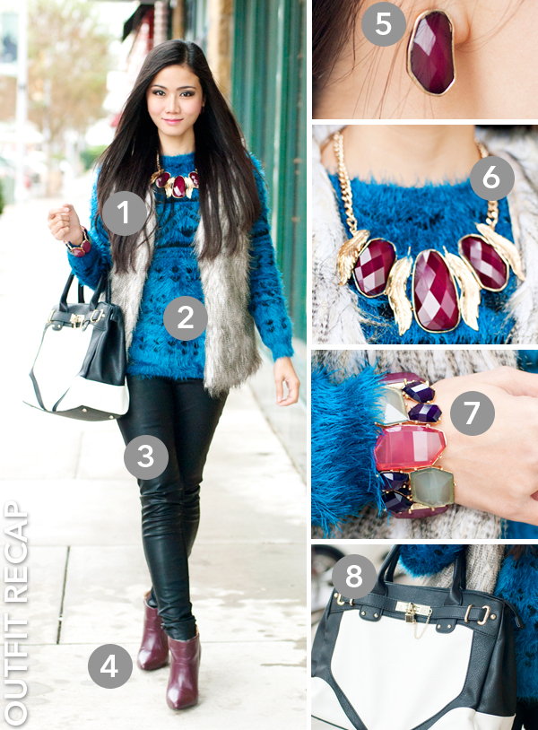 Colored Faux Fur Trend