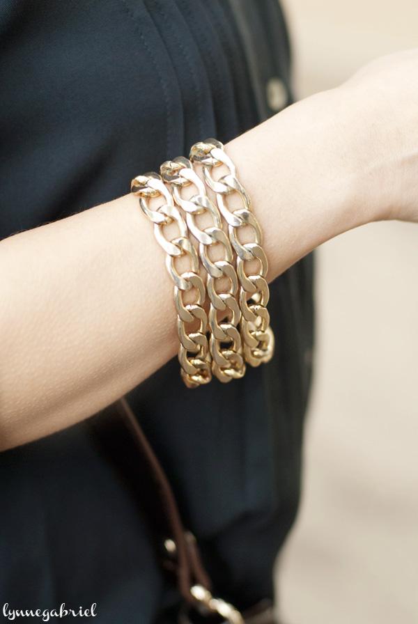 Triple Chain Bracelets