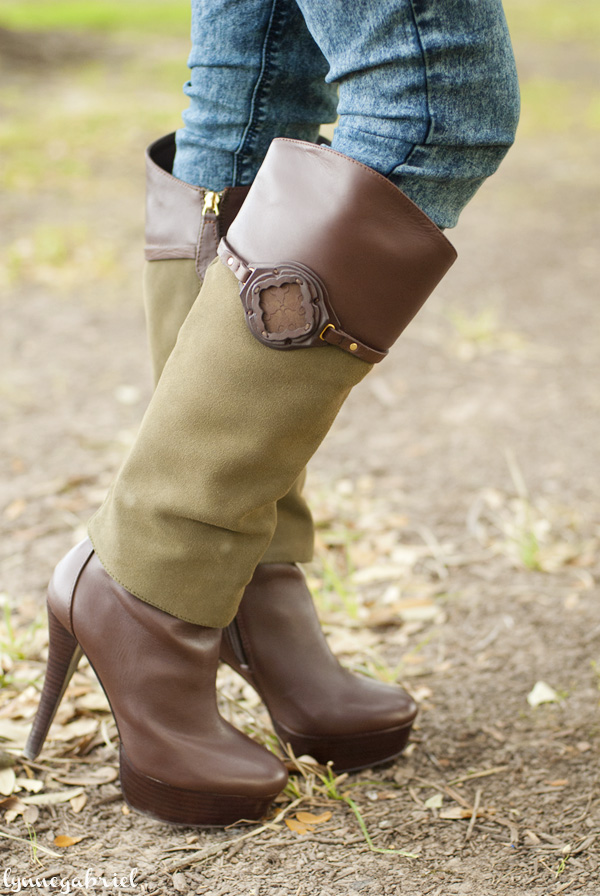 Lisa Lecroy Tall Boots