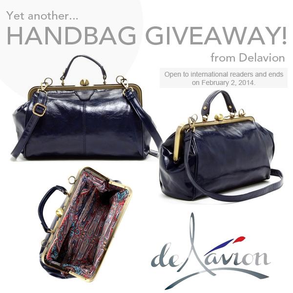 Delavion Handbag Giveaway