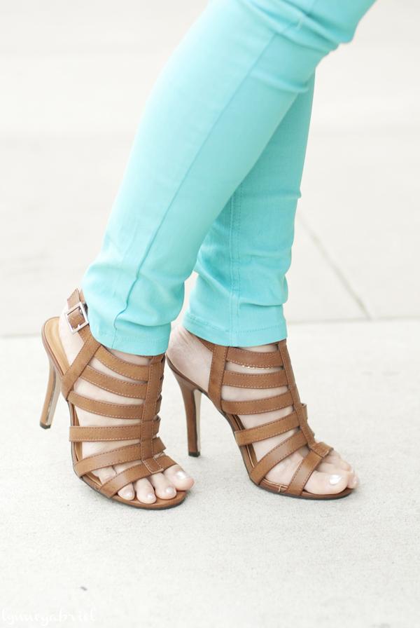 Deb Shops Strappy Sandals