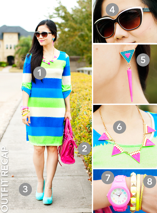 Neon Brights Outfit