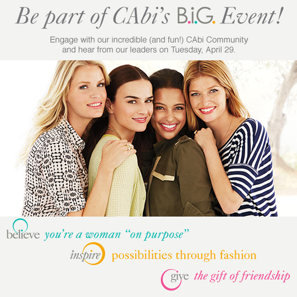 Be Part of CAbi's B.I.G. Event!