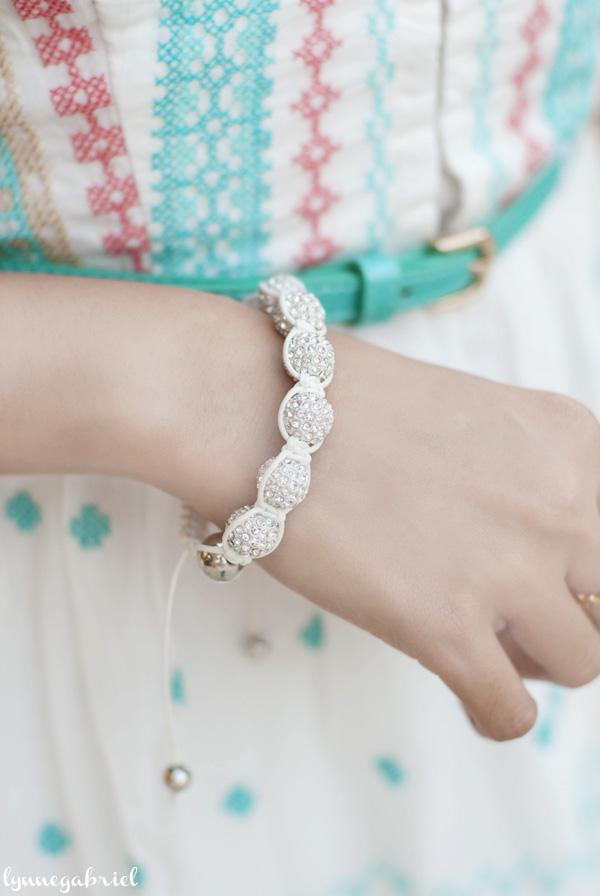 Fibi and Clo Bead Friendship Bracelet