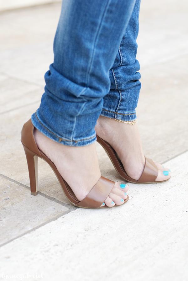 Deb Shops Ankle Strap Heels