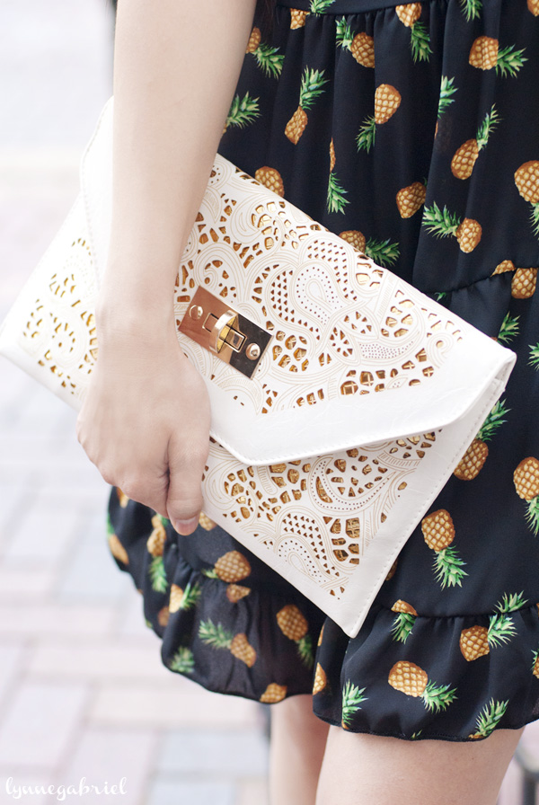 Ash & Willow Cut Out Clutch Bag