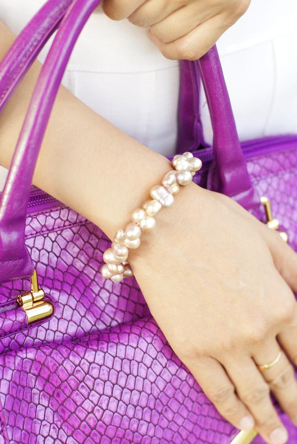 Pearl Lang Pearl Bracelet