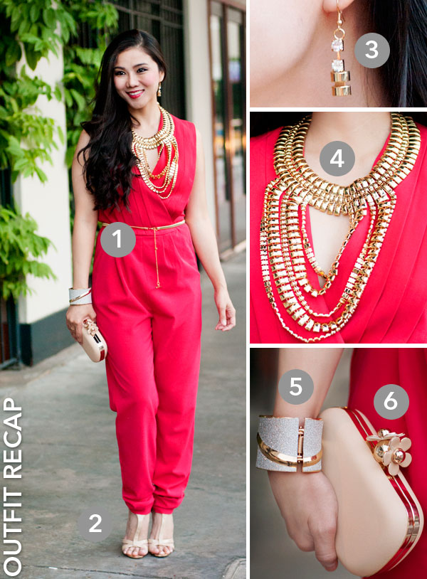 0e11cc918791 Venus Red Jumpsuit — Whatever is Lovely