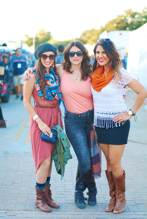 Stylish Outfits at the Fun Fun Fun Festival
