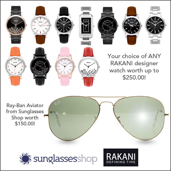 Rayban + Rakani Giveaway