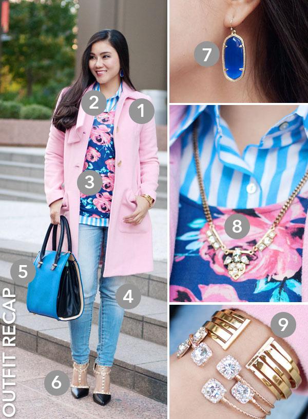 CAbi Pink Coat