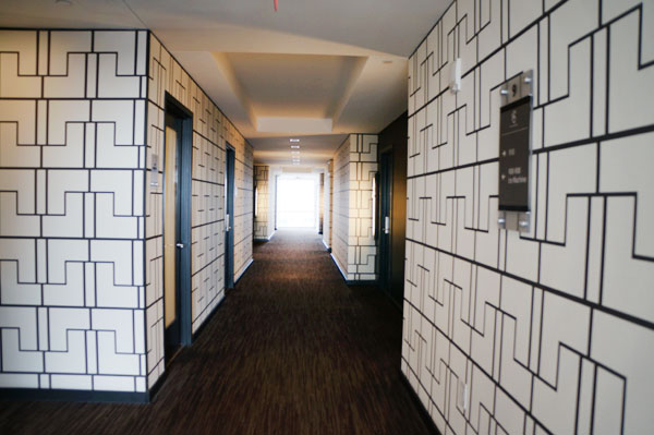 Hotel Sorella Hallways
