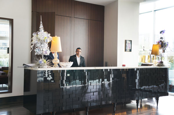 Hotel Sorella Reception Desk