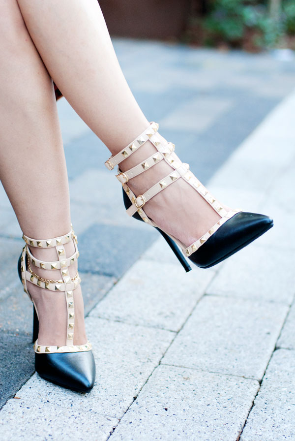 Valentino-Inspired Shoes