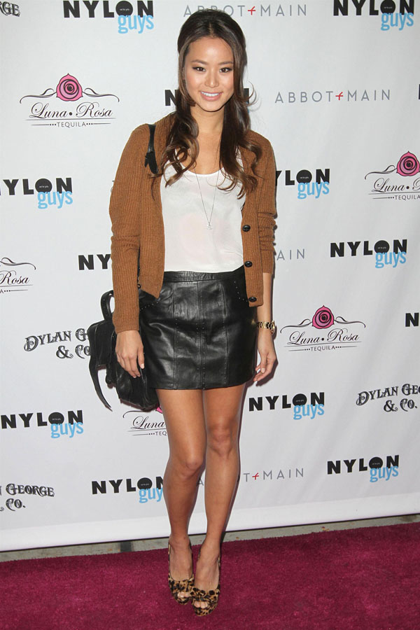Jamie Chung at Nylon Guys