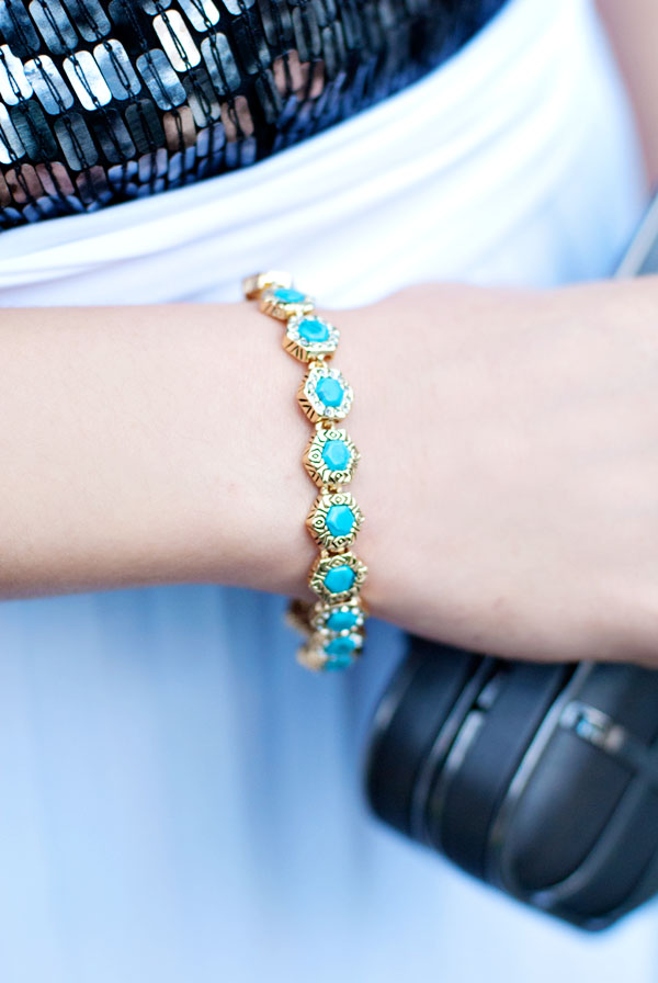 House of Harlow Hexagon Bracelet