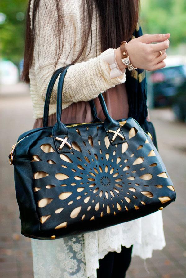 Laser Cut Handbag