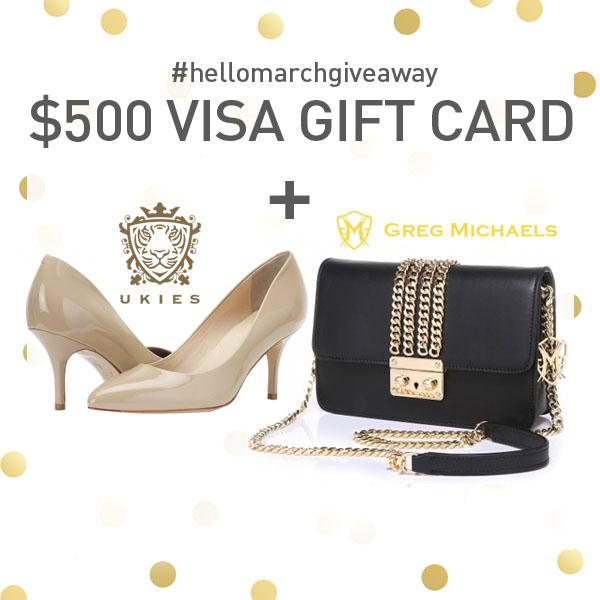 $500 VISA Gift Card + MORE Giveaway