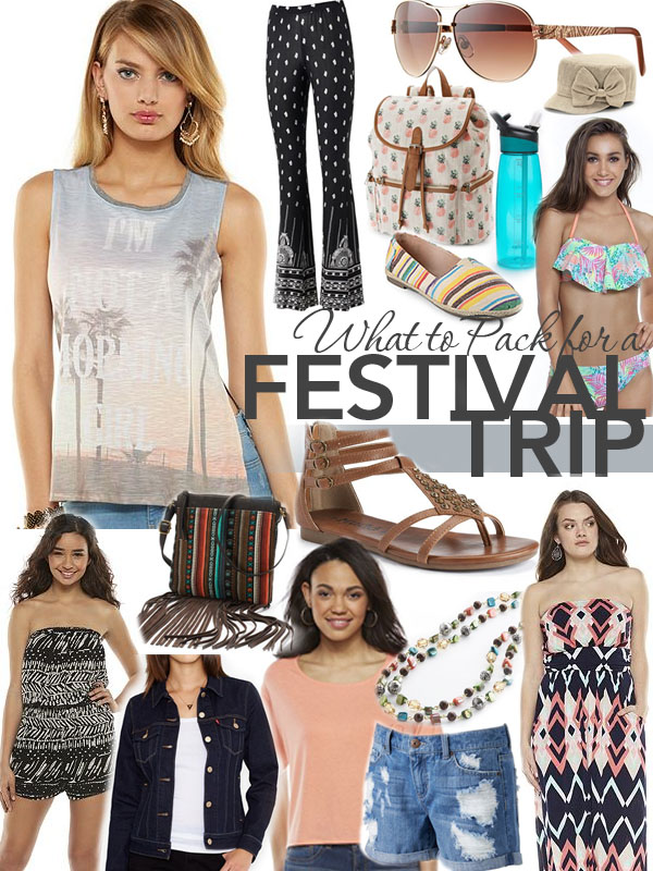 What to Pack for a Festival Trip