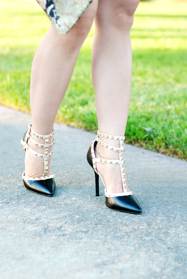Valentino-Inspired Heels