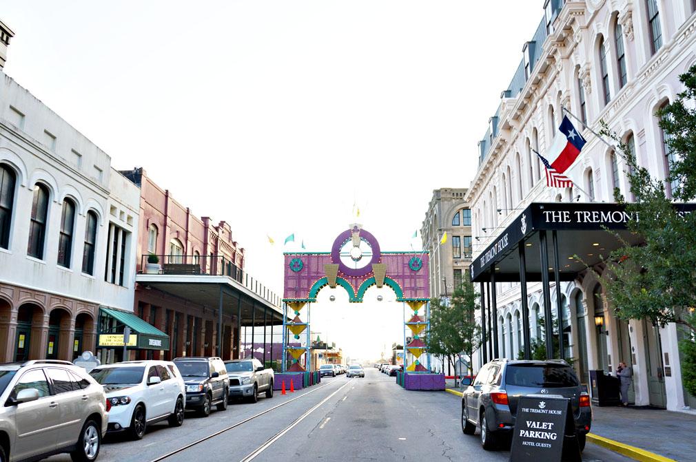 The Strand  Arc - Galveston, TX