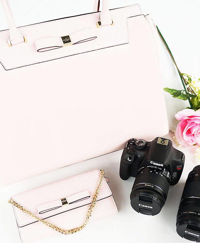 Canon Rebel Kit + Kate Spade Giveaway