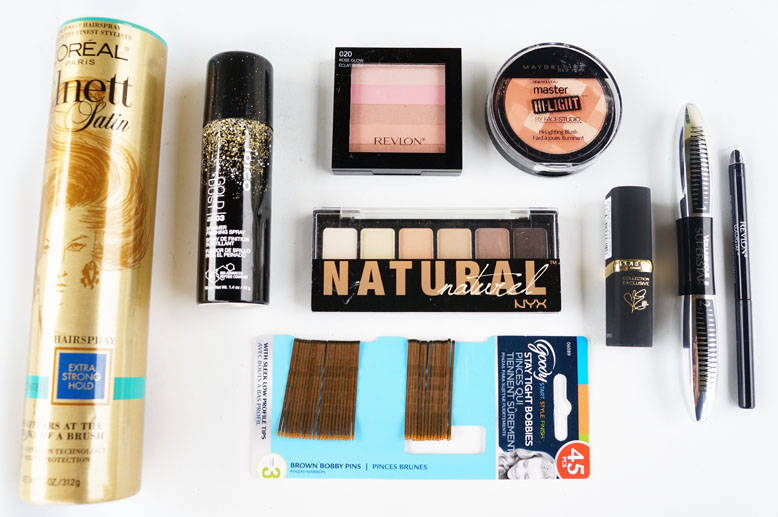 Holiday Beauty Look From HEB + Macbook Air and Kate Spade