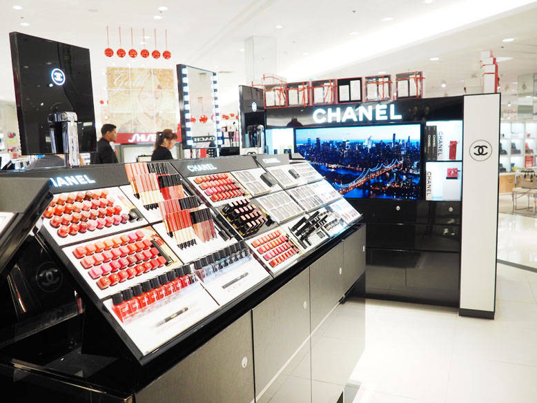 Chanel Beauty Counter at Macy's