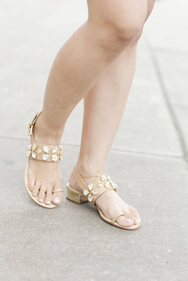 Michael Kors Toe Ring Sandals