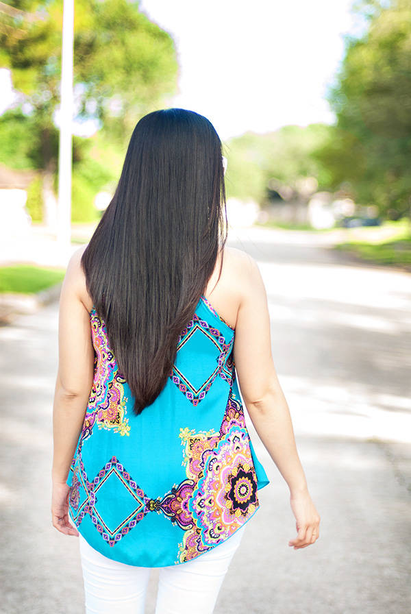 Asian with Long Hair