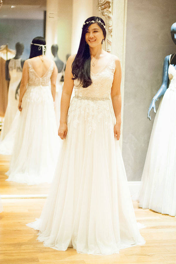 Bridal Dress Shopping Experience at BHLDN Houston — Whatever is Lovely