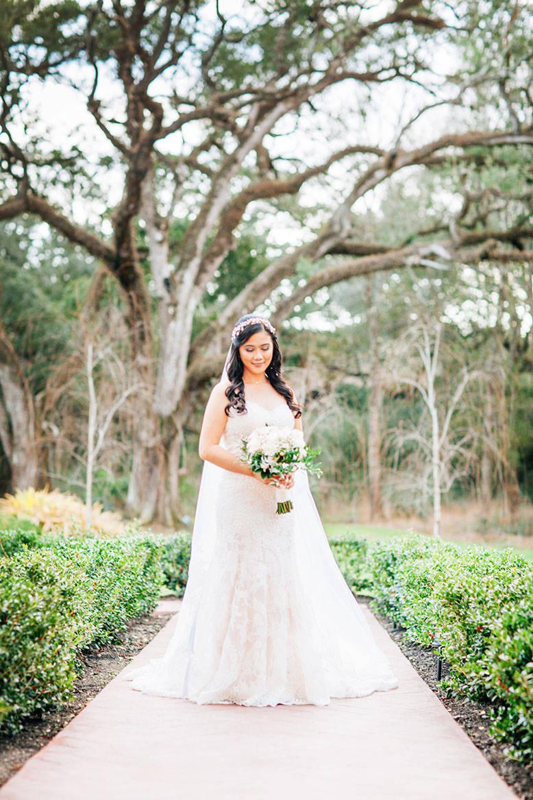 My Winter Wedding Series: My Bridal Portrait Session