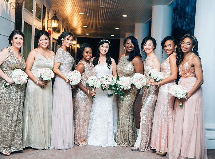 My Winter Wedding Series: The Wedding Party Look Part 2: The Bridesmaids