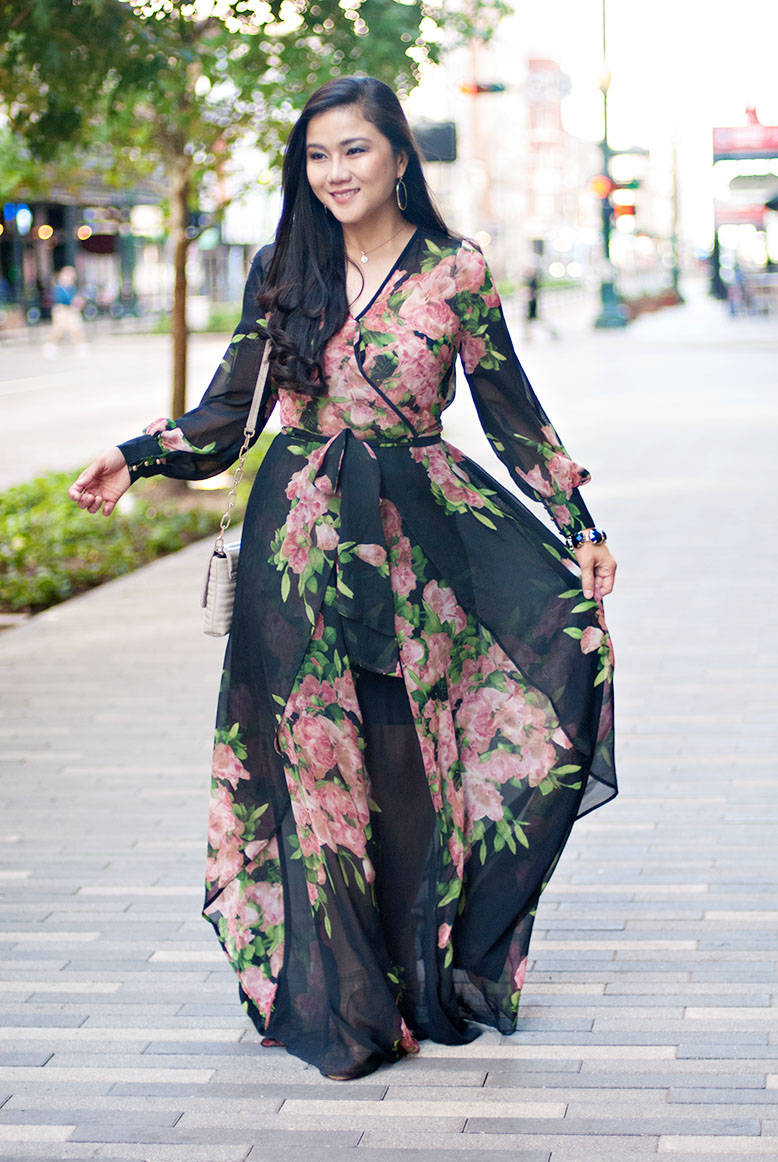 The Floral Maxi Dress You Can't Have Without