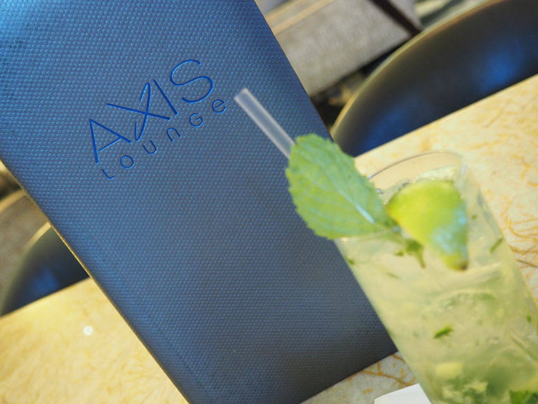 Where To Hang and Dine In Houston: Axis Lounge at Royal Sonesta Hotel