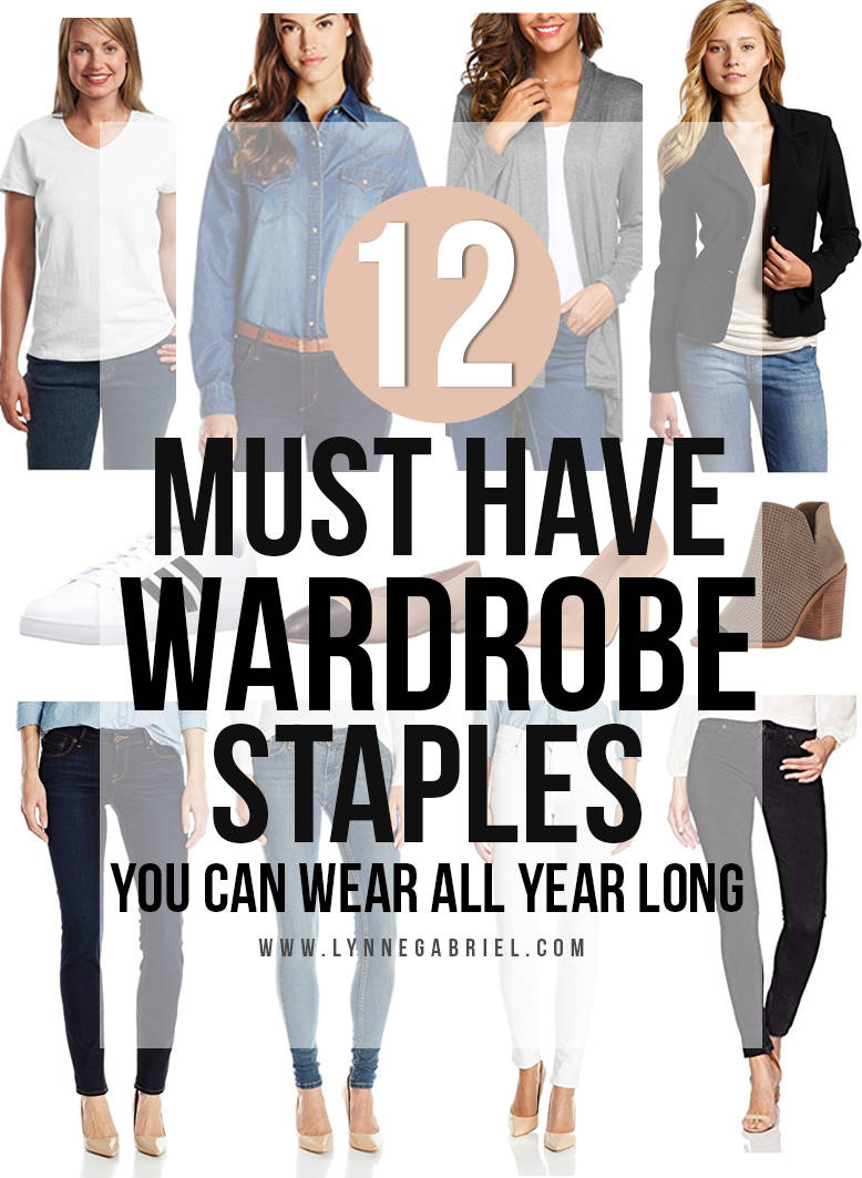 12 Must Have Wardrobe Staples
