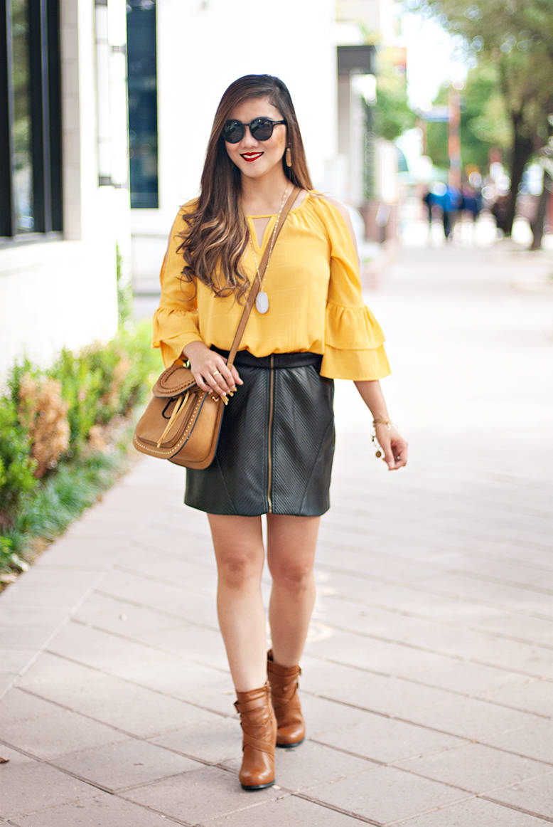 Patent Mini Skirt How To Wear It What Style Up With