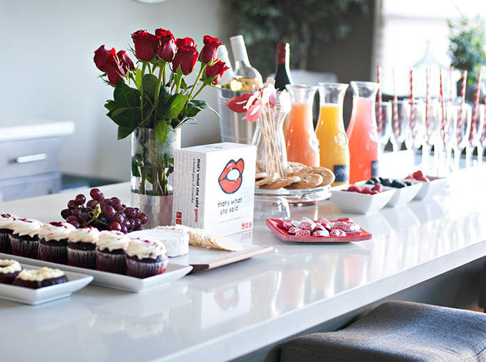How to Host a Fabulous Valentine's Party With Your Girlfriends
