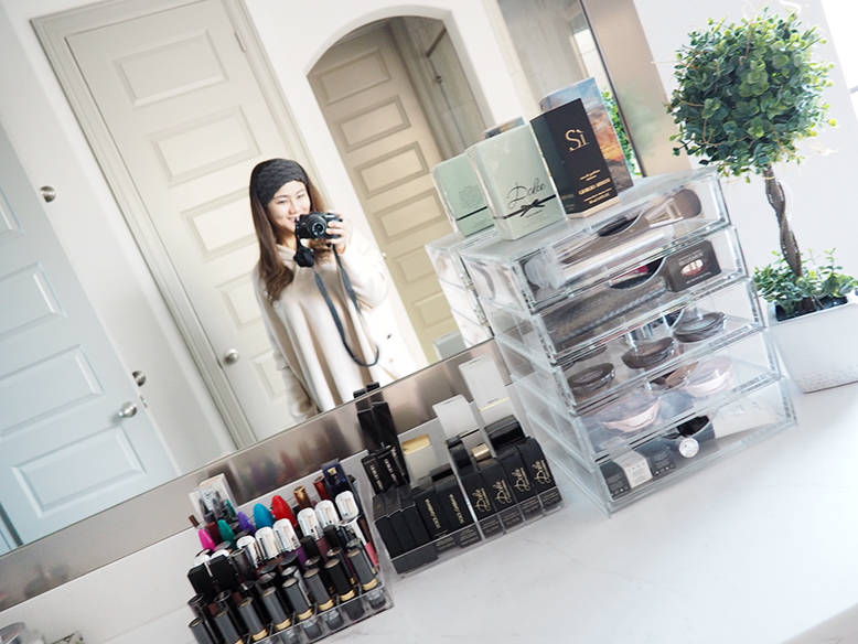 Organize Your Makeup Vanity