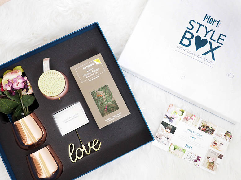 What's In My Pier 1 Style Box? A Quick Look at  Home Decor Subscription Box