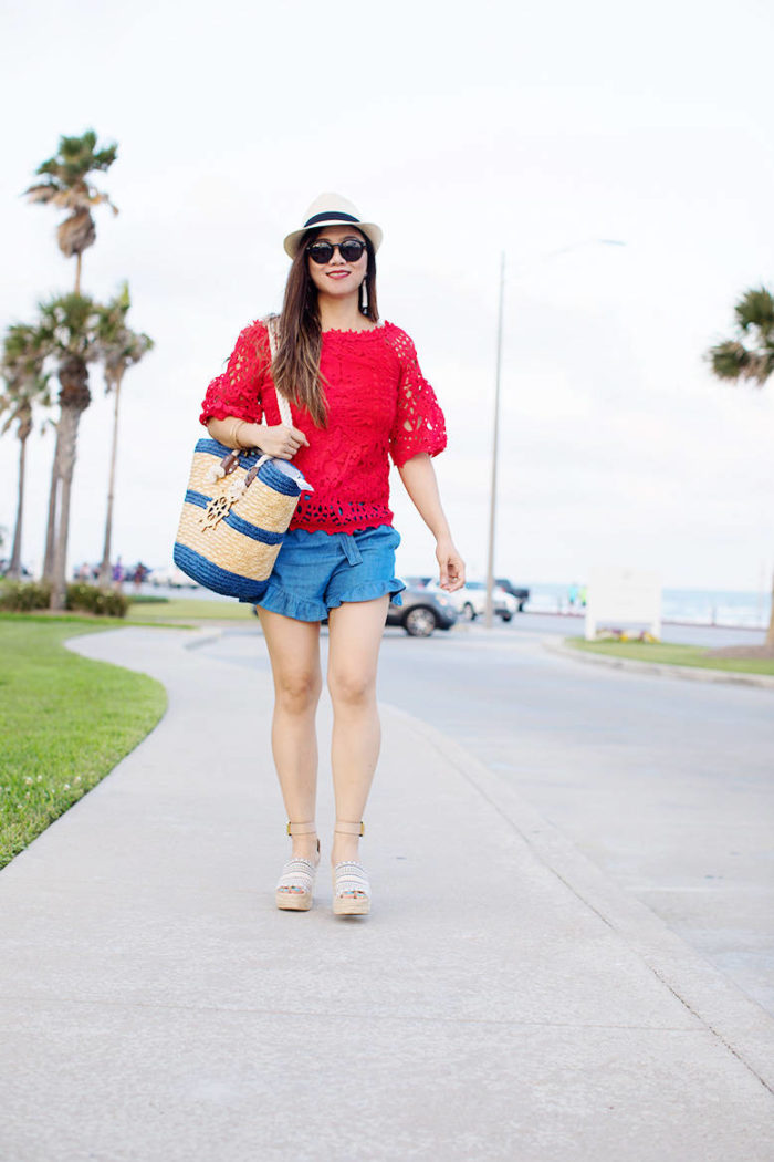 Spring Outfit Inspiration: Memorial Day Outfit Idea